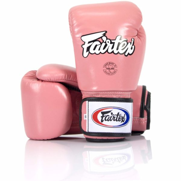 Fairtex bgv1 pink 10oz gloves