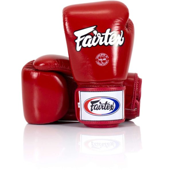 Fairtex bgv1 red 12oz gloves