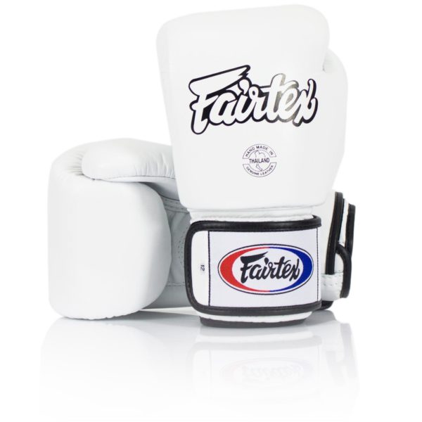 Fairtex bgv1 white 16oz gloves