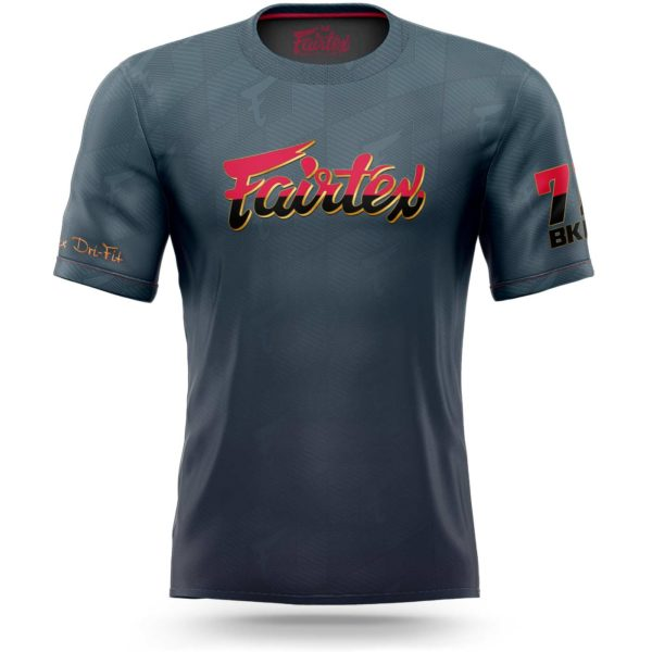 fairtex t-shirt fade away 2020 edition