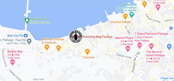 Punching-bag factory location